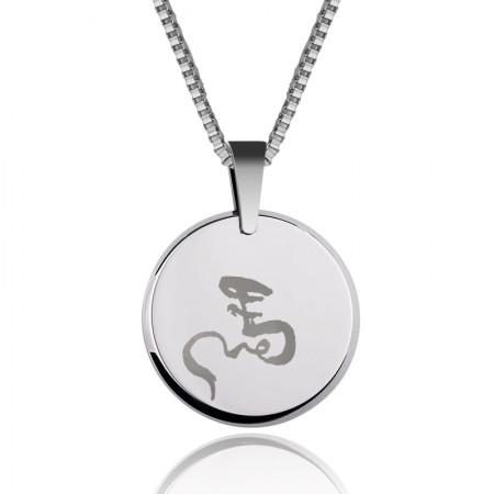 Tungsten Lucky Men'S Necklace
