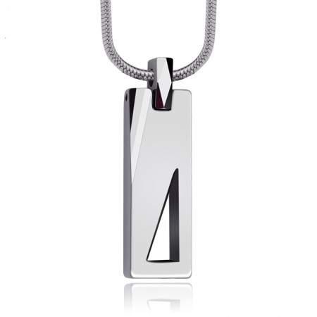 Tungsten Men'S Personalized Necklaces