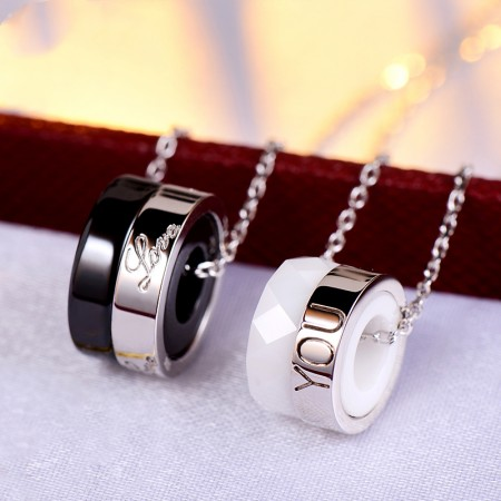 New Personality Korean Couple Necklaces