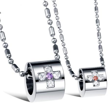 Creative Circular Couples Necklaces