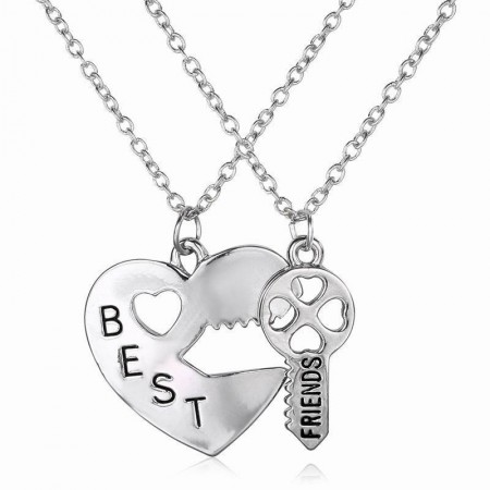 Europe Alloy Best Friends Necklace