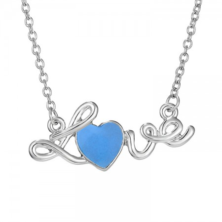 """""""Love"""" Hollow Glow Necklace"""