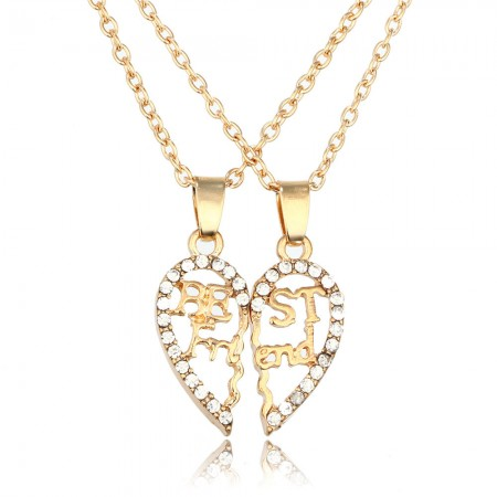 """Best Friends"" Diamond Necklace"