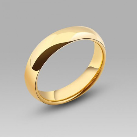 Tungsten steel wedding ring/wedding band for men