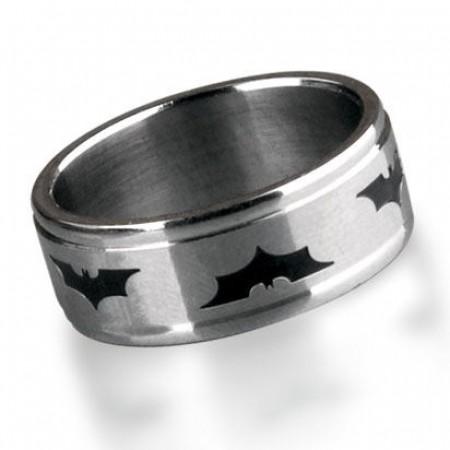 Handsome Batman The Dark Knight Titanium Steel Men's Ring