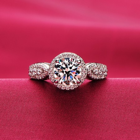 1.2 Carat Simulated Diamond Engagement/Wedding/Promise Ring For Her