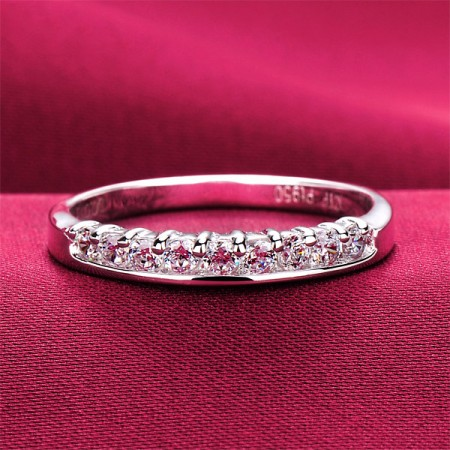 0.3 Carat x 9 Simulated Diamond Engagement/Wedding/Promise Ring For Her