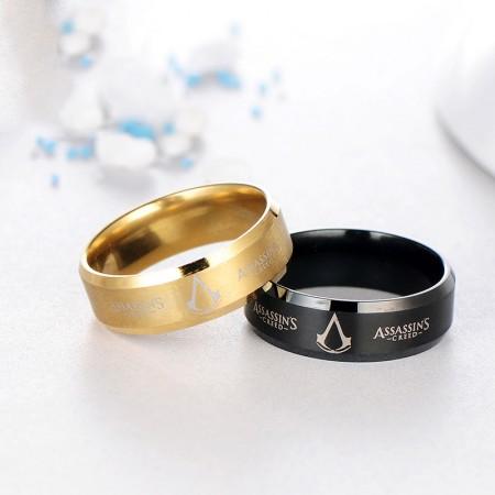 Assassin's Creed 316L Titanium Steel Man's Ring
