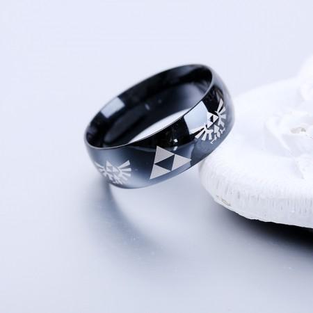 Legend Of Zelda 316L Titanium Steel Man's Ring Woman's Ring