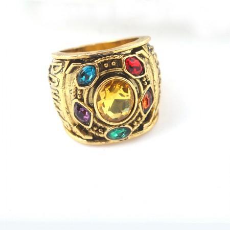 Thanos' Five Infinite Gemstone Energetic Man Ring