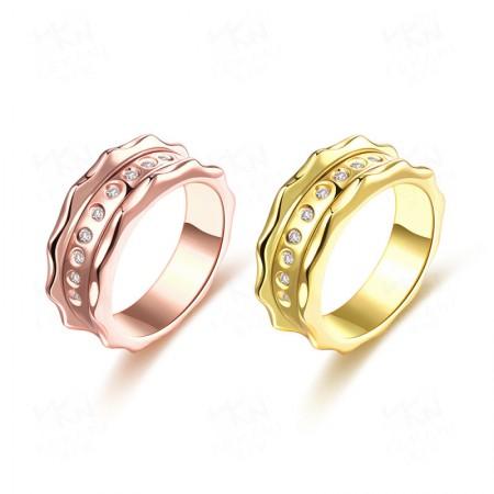 Fashion Zircon Couple Rings