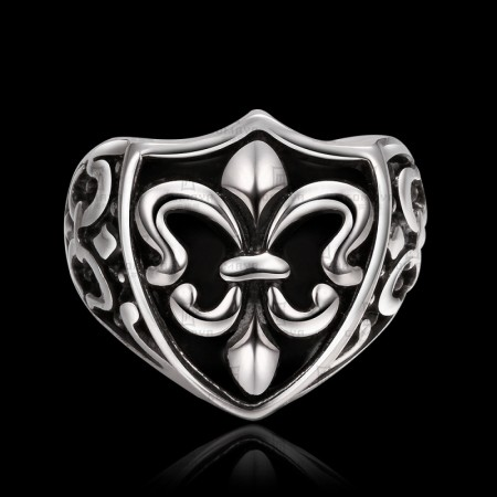 Cool Chrome Hearts Steel Ring