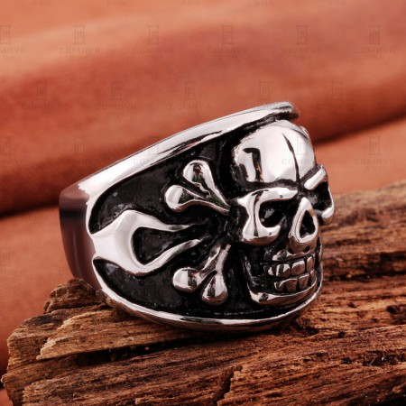 Personality Punk Rock Style Ring