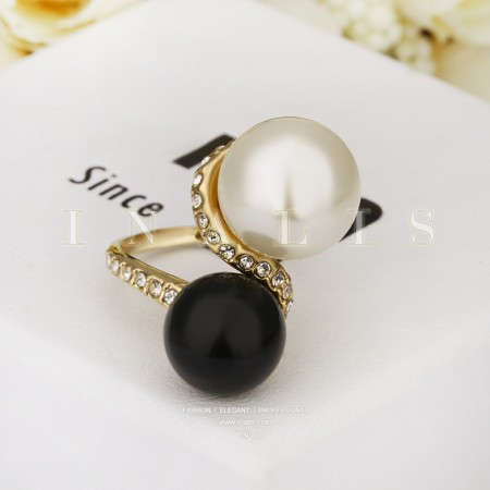 18K Rose Golden Pearl Ring