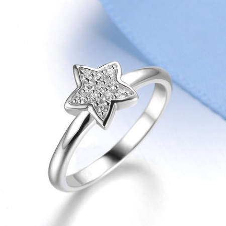 Fashion style five-pointed star ring female models