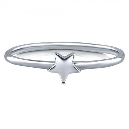 Sterling Silver Star Ring
