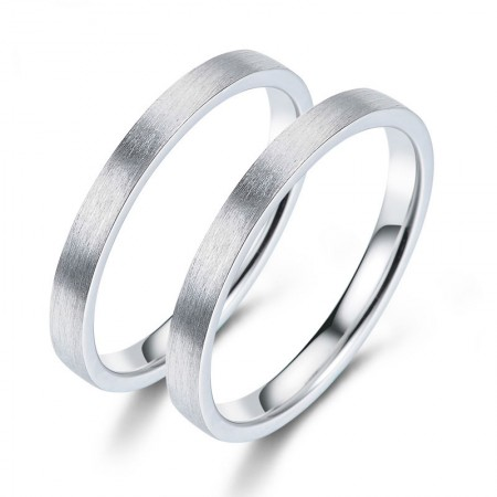 Convention Love 925 Silver Creative Fashion Engraved Couple Rings