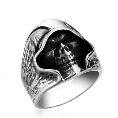 Skull Domineering Personality Titanium Steel Rings