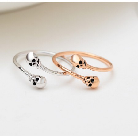 Woman Personality Opening Skull Ring