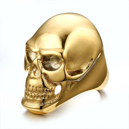 Domineering Personality Skull Ring