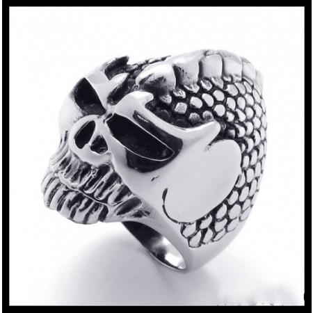 Fashion Punk Skull Ring