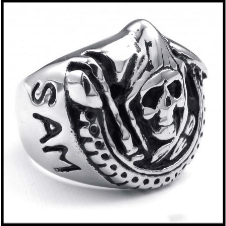 Creative Retro Punk Skull Ring