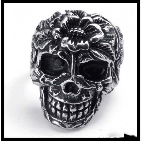 Fashion Retro Punk Skull Ring