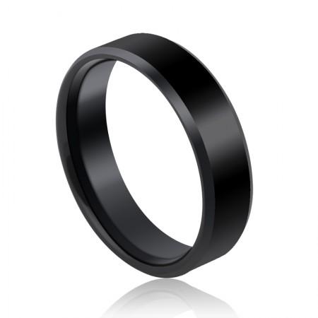 Black Tungsten Rings