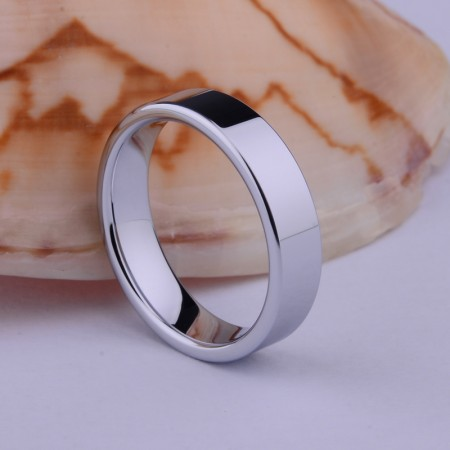 Contracted Fashion Personality Tungsten Ring