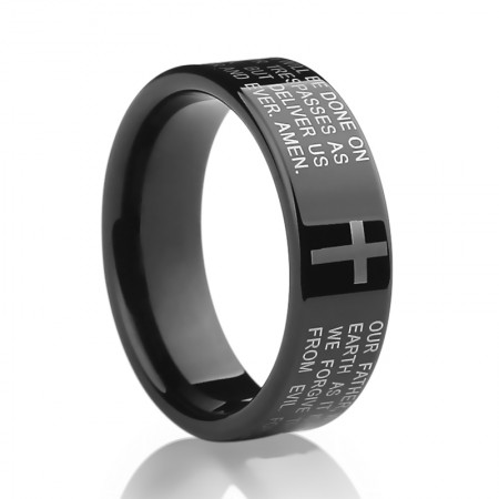Original Bible Tungsten Ring