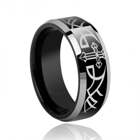 Europe Wide Tungsten Ring