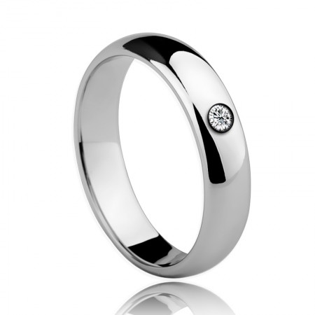 Tungsten With Diamond Fashion Ring