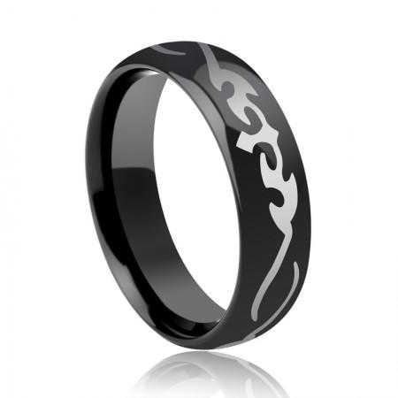 Fashion Retro Black Ring