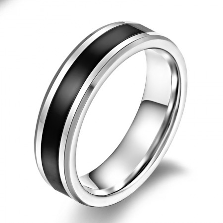 Tungsten Men'S Personality Ring