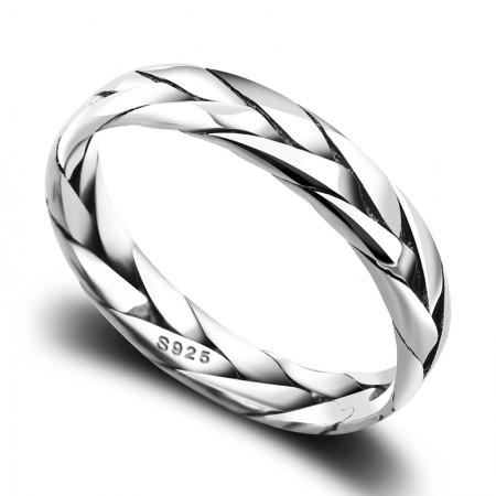 Hand-Woven Retro Men'S Rings