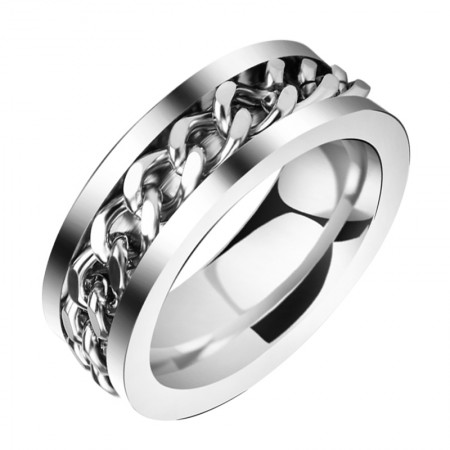 Fashion Personality Titanium Steel Rings(Two Colors)