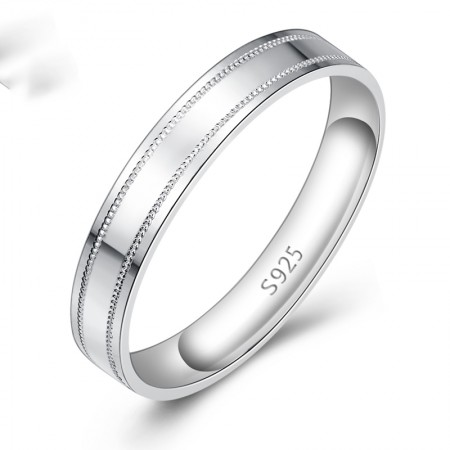 Minimalist Fashion Personality 925 Silver Ring