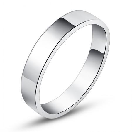 Simple Mirror 925 Silver Ring