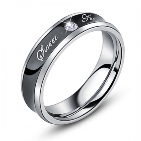 Men'S Fashion Personality Diamond Ring