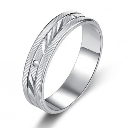 Simple Retro 925 Silver Ring