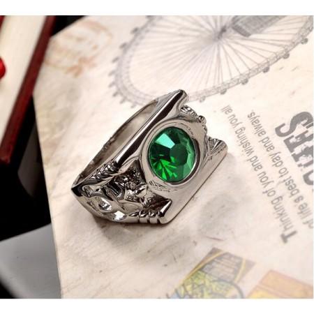 Crystal Green Lantern Ring
