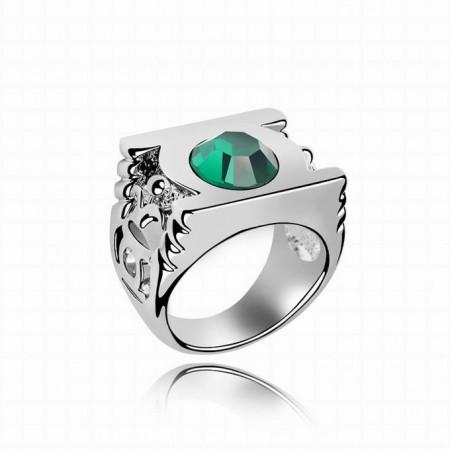 Green Lantern Emerald Crystal Ring