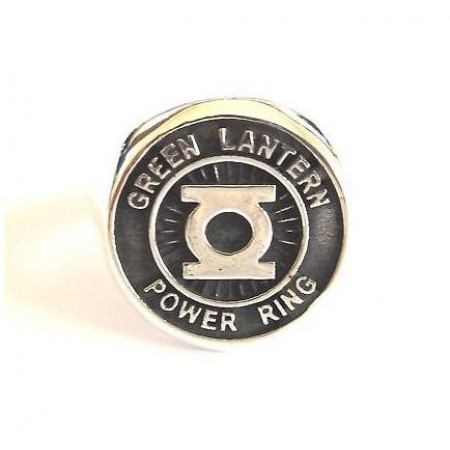 Silver Green Lantern Power Ring