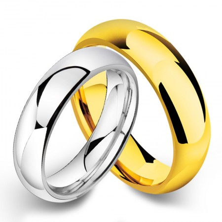 Simple Tungsten Couple Rings