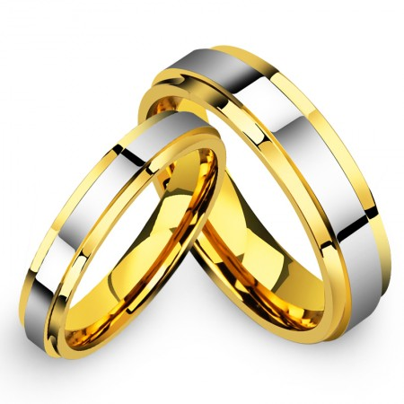 Domineering Personality Tungsten Couple Rings
