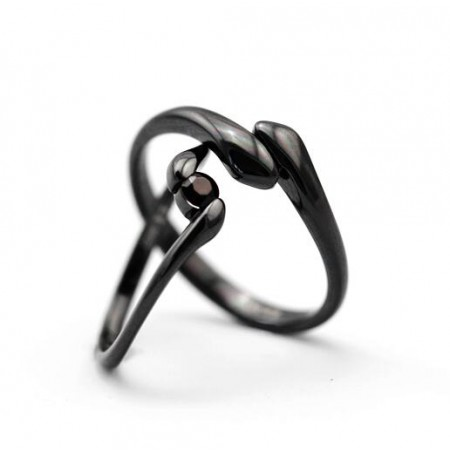 Original Hand-Hold Your Hand Couple Rings