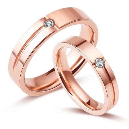 Simulation Diamond Couple Rings