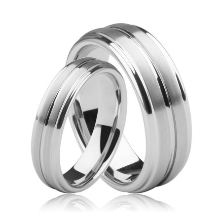 Creative Retro Pull Sand Couple Rings