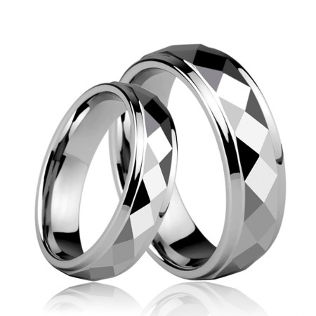 Popular Tungsten Couple Rings