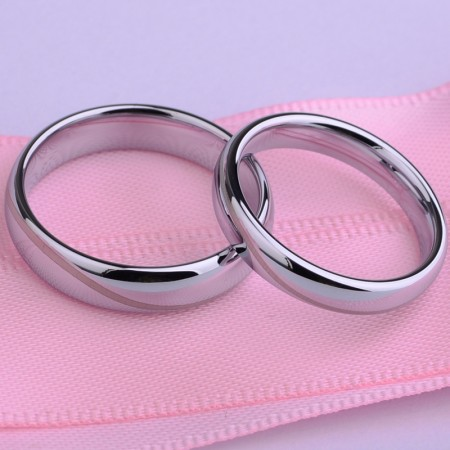 Romantic Aesthetic Steady Couple Rings